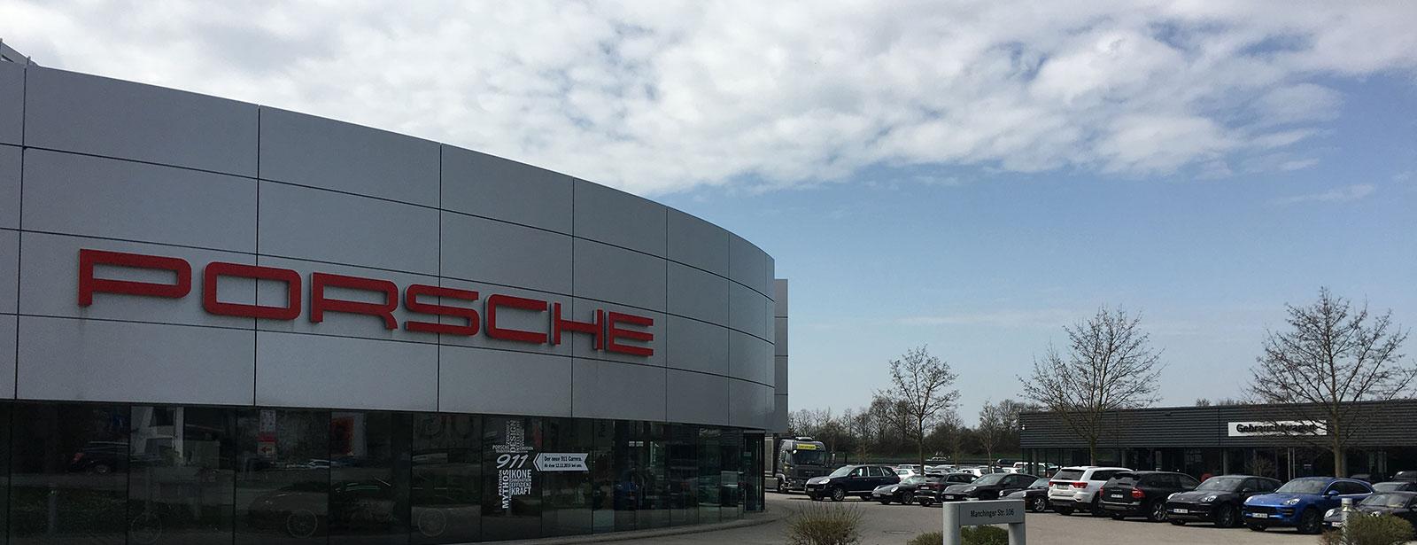 Le Centre Porsche de Ingolstadt